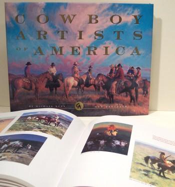 Cowboy Artist of America, book
