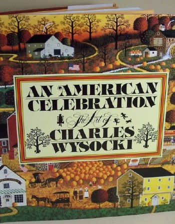 An American Celebration by Charles Wysocki, book