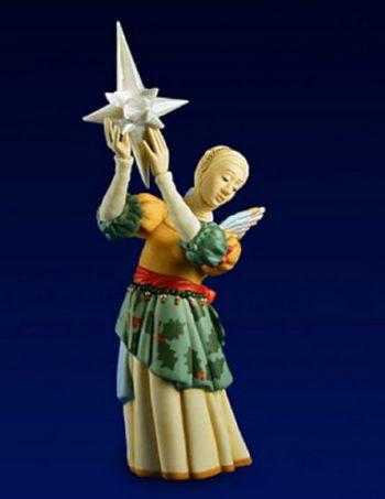 Gift of Light by James Christensen, porcelain sculpture