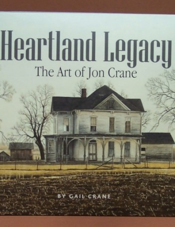 Heartland Legacy book by Jon Crane, watercolor artist