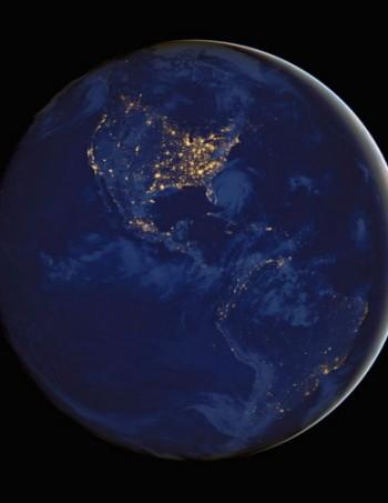 NASA-americas-at-night