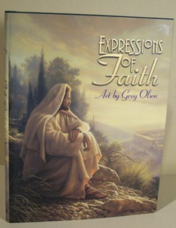 Expressions of Faith book art by Greg Olsen