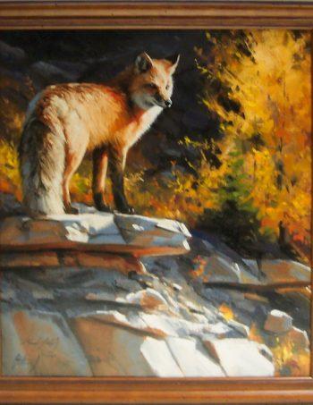 Autumn Vigil by Edward Aldrich framed giclee canvas