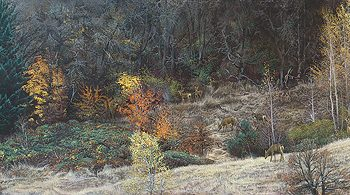 Autumn Gathering by Stephen Lyman
