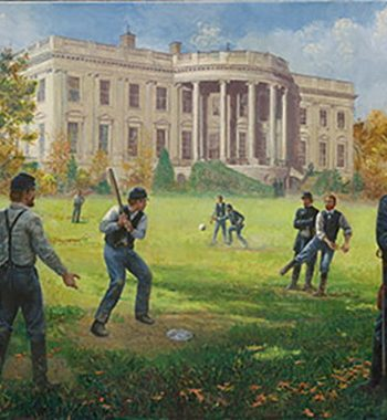 Baseball - The National Game by Mort Kunstler