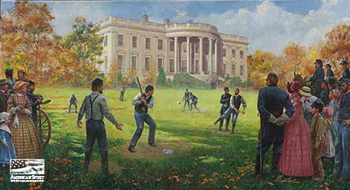 Baseball - The National Game by Mort Kunstler