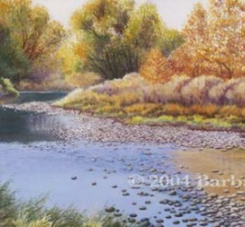 Autumn Reflections by Barbara Moore